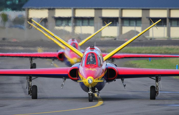 Fouga Magister - Comment faire un vol en avion de chasse ?