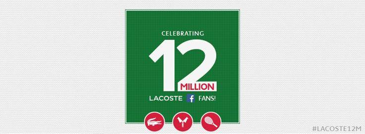 Známa značka Lacoste má už 12 miliónov fanúšikov. Pridajte sa k ním. Lacoste hodinky na 1010.sk. http://www.1010.sk/c/damske-hodinky-lacoste/