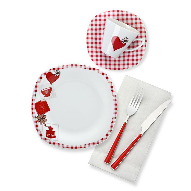 Bernardo Love Kahvaltı Takımı / Breakfast Set #bernardo #kitchen #mutfak #tabledesign #breakfasttime