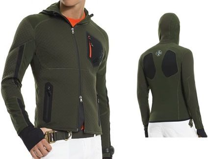 RLX's Tron Soft Shell is a performance specific jacket that uses a combination 3D fabric and mesh panels to keep you cool and dry and provide increased flexibility. Honestly, we just like it because it looks like the hi-tech gear you would find in a futuristic Japanese Anime. [$325]