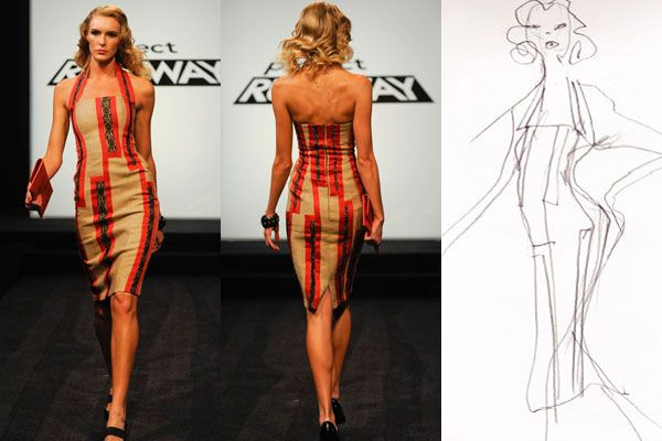 Project Runway 7 - Episode 2 - Threads