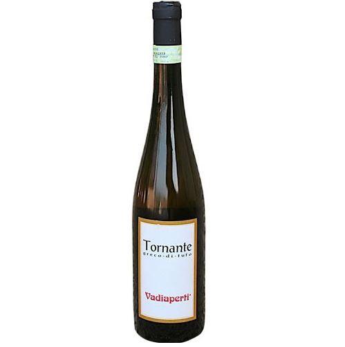 Traerte - Tornante Greco Di Tufo Vadiaperti D.O.C.G. 2012 - 4 Grappoli Bibenda - 4 Bottiglie L'espresso - 2 Bicchieri Rossi Gambero Rosso Cl 75