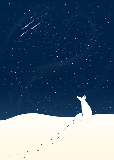 Winter Night ★ iPhone wallpaper