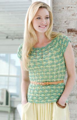 Festival Fancy Vintage Top Free Crochet Pattern from Aunt Lydia's Crochet Thread