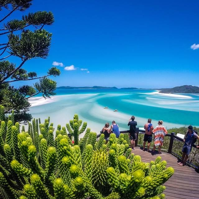 Hill Inlet in the Whitsundays, Queensland, Australia. Photo: @oceanrafting.