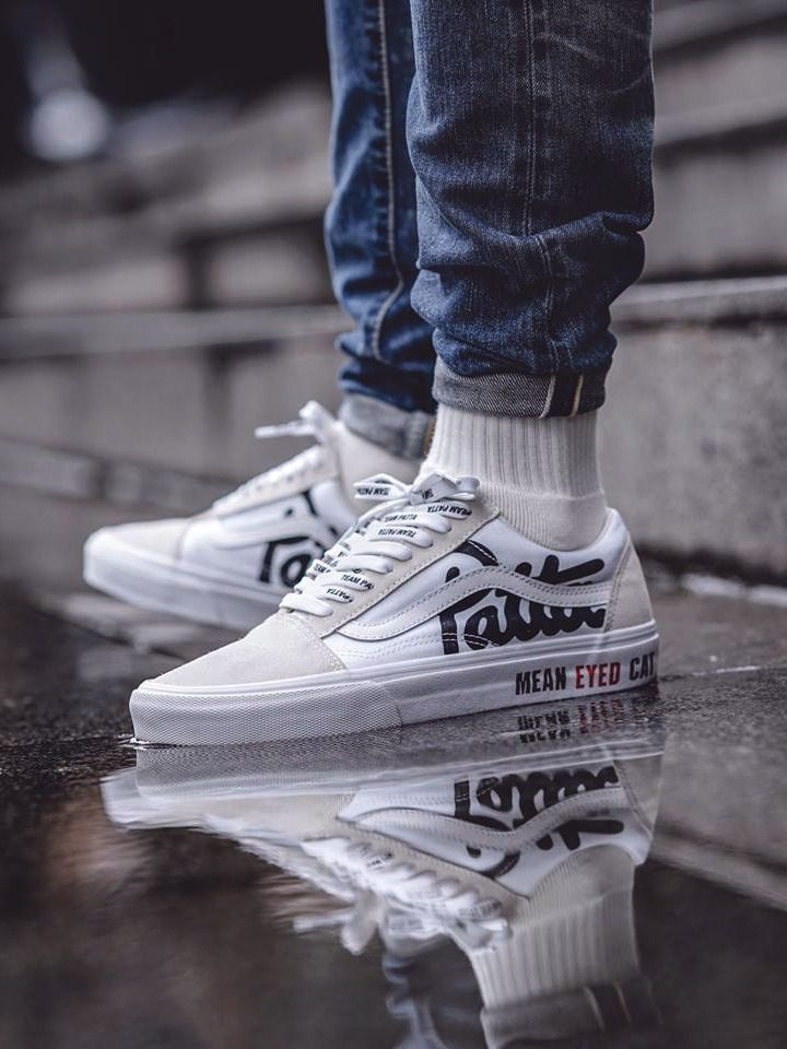 1e725a4df86 Patta x Vans Old Skool Mean Eyed Cat - True White - 2017 (by  one man army.07)