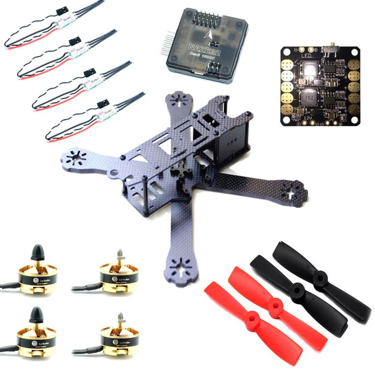 "==> [Free Shipping] Buy Best 220mm 5"" FPV Race Quadcopter Drone Naze32 2204 Motor Mini ESC combo set for FPV Online with LOWEST Price 