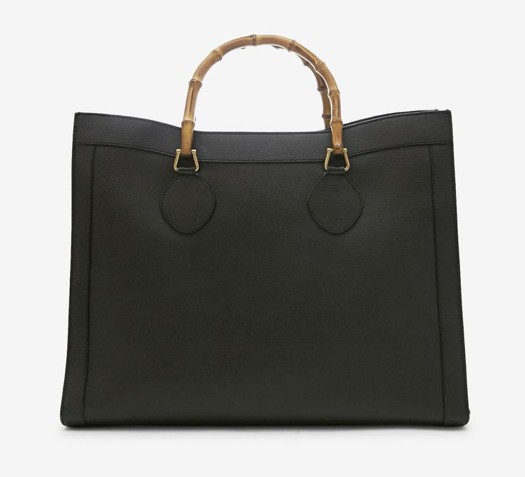 Tom Ford for Gucci Black And Wood Clutch