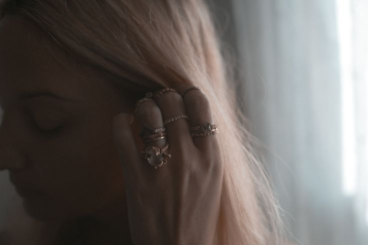 HEIR·LOOM, stackable rose gold ring by Rhodes Wedding Co.