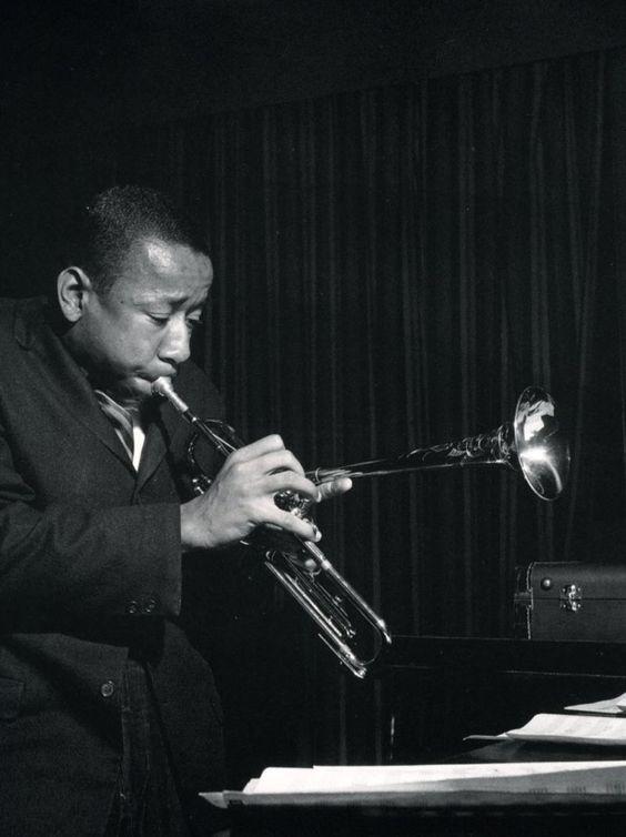 À LA DIZZY BLOW IT SILLY…Lee Morgan, jazz musician...