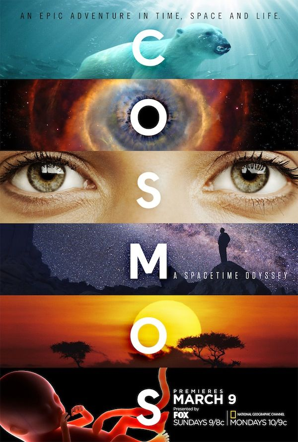 Cosmos: A Spacetime Odyssey ~ The reboot airs 34 years later on Sunday, March 9th, 2014. Sundays, Fox 9/8c and Mondays, National Geographic Channel 10/9c.  Will definitely be watching!