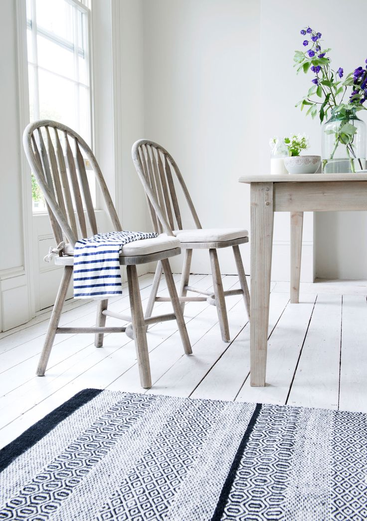 Loaf's beautiful hooped-back Bossy kitchen chairs sold in pairs.