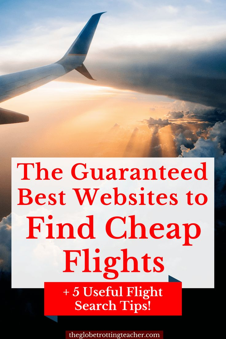 The Best Websites to Find Cheap Flights + 5 Useful Flight Search Tips! Ever wonder if you paid too much for your flight? It's so easy to feel overwhelmed by all the websites to search and then to wonder if you really got the cheapest airfare. Pin this guide for best websites to find cheap airfare and tips to help you search like a pro! #travel #cheaptravel #budgettravel #travelhacks