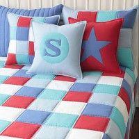 Narzuta patchwork dwustronna |LOTA|145x215cm, patchwork house