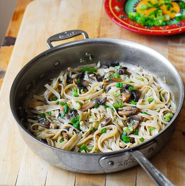 Jump to Recipe Print RecipeGarlic Mushroom Fettuccine Pasta smothered in butter and shredded Parmesan. Sometimes, the simplest of recipes are truly the best! You'll love simple yet delicious flavors in this meatless recipe. This mushroom fettuccine pasta recipe takes only 30 minutes to make, but the resulting dish tastes like something you would order in...Read More