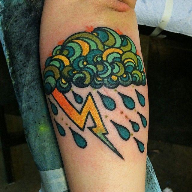 Just clouding around Jon Larson | Lucille Tattoo ...