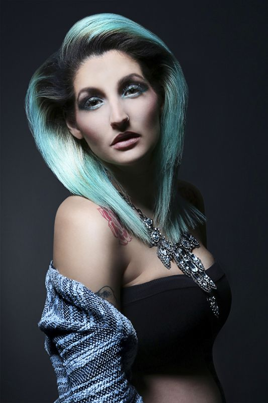 Vagaboo hair collection by Dominika Reslerová for Bomton Studio, photo by w:u studio