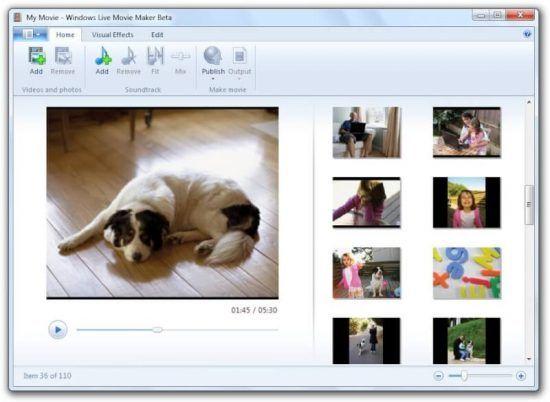 Windows Live Essentials Movie Maker