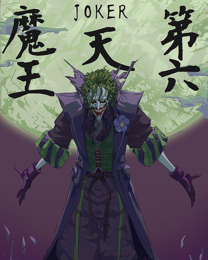 By Dc Batman Ninja Justiceleague Dc Comics Dcuniverse Dcu Leagueofjustice Batman Superman Joker Wonde Batman Ninja Joker Comic Batman Vs Joker
