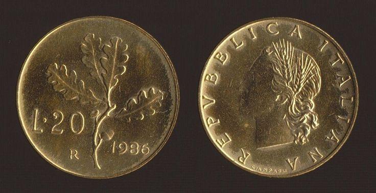 Valore Moneta 20 Lire