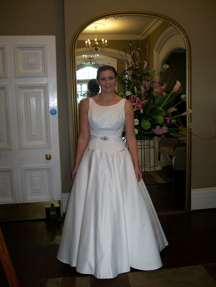 Our gorgeous Heidi - Woodside, February 2014 www.bridalgallerycoventry.co.uk