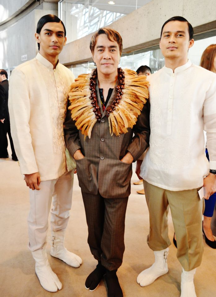 "John Ablaza, Filipino fashion designer, created costumes for the documentary ""Jose Rizal, The First Hero"" will be coming back to Toronto after a successful Philippine Canada Fashion Week gala fashion show.  His solo Gala show will be on Jan. 18, 2014. http://coutureandculture-eventful.eventbrite.ca/r/eventful"