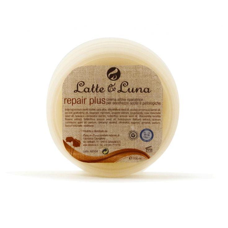 Latte & Luna Repair plus Crema a potente azione decongestionante e restitutiva, grazie alla sua composizione: un mix perfetto di oli e in più principi naturali attivi antiossidanti. Coadiuvante nei processi riparativi cutanei. http://www.quirquir.com/shop/img/p/6/1/6/616-large_default.jpg