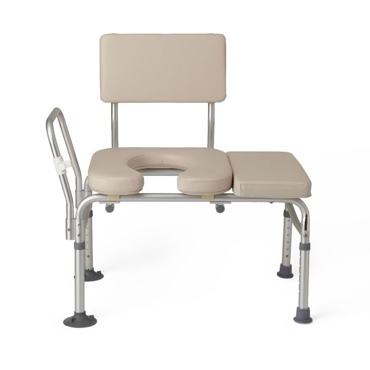 Padded Transfer Benches Padded Transfer Benches from PRO2Medical.com safely provides assistance to those who have difficulty stepping over bathtub walls. #bath #disabled #shower #chair #transfer #healthcare