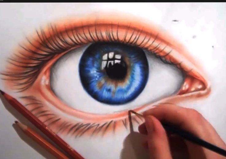 eye drawing ... its mostly due to school etc ie but been doing a lot of realism and so I thought I would do something different for a change , oh and sorry f...