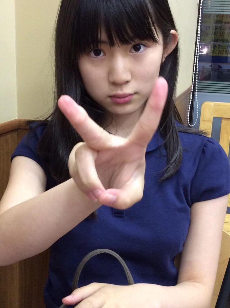 tweet : 澄んだ瞳と黒髪の美少女【蒼波純】画像・動画・新着