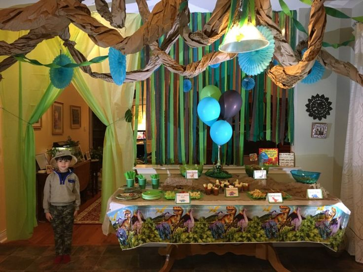 Jurassic Dinosaur Hunt Party Ideas, Games, Food and much more for your Dinosaur Loving child's birthday!
