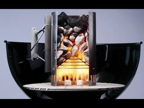 How To Start your weber charcoal grill - How To light a barbecue - Chimney Fire Starter - YouTube