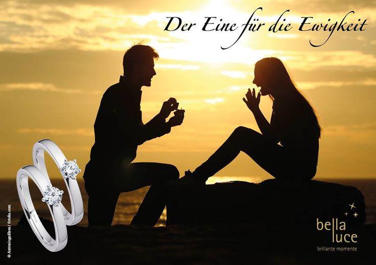 An unserem Stand auf der Fachmesse Inhorgenta 2016 erhalten Sie die perfekte Antwort, um den schönen Brauch der Verlobung im Ihrem Juweliergeschäft umzusetzen. Lassen Sie sich von unserer neuen Solitaire Aktion überraschen und vereinbaren Sie einen Termin mit Ihrem Vertriebsrepräsentanten!   Bald ist auch Valentinstag - der Tag der Liebe. Wie wäre ein Solitaire-Ring für Ihren Partner oder Ihre Freundin?  #diamantschmuck #solitair #valentinstag #Inhorgenta #bellaluce