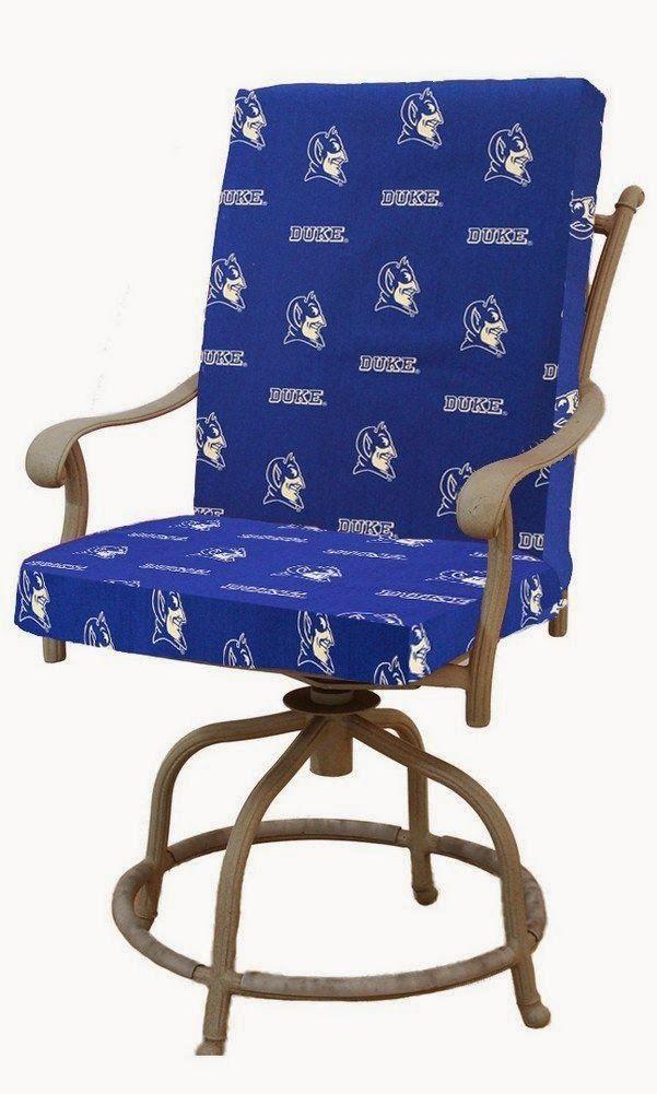 Duke Blue Devils Ncaa 2 Piece Chair Cushion Sports Fan