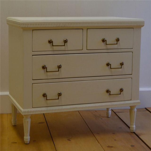 Delightful English Farmhouse Furniture Madeline Bedside Chest