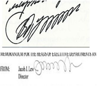 In looking at my handwriting signature samples it dawned on me ...