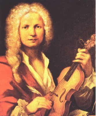 """Antonio Vivaldi (1678-1741) nicknamed """"The Red Priest"""" was an Iralian Baroque composer, priest, and virtuoso violinis, born in Venice. Vivaldi si recognized as one of the greatest Baroque composers, and his influence during his lifetime was widespread over Europe."""