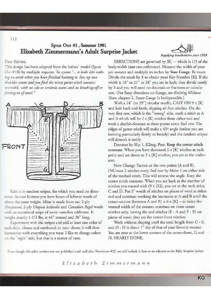 Elizabeth Zimmermann The Opinionated Knitter