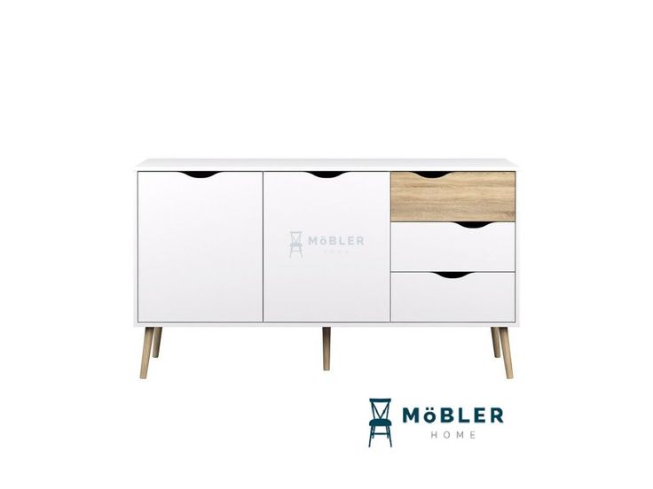 Delta velká komoda ve stylu retro - Möbler
