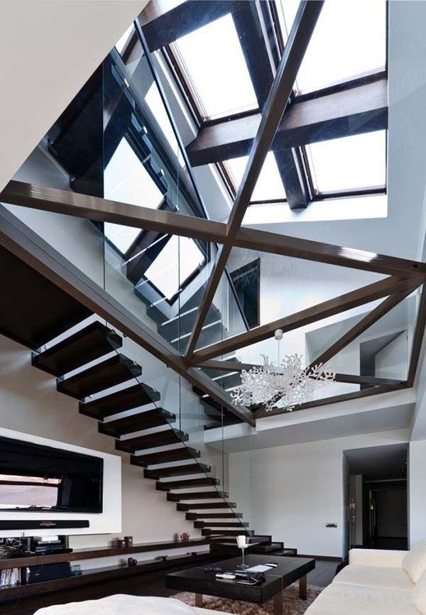 Ultra-fabulous three-story modern loft in Romania