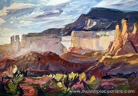 Louisa McElwain - Piedra Lumbre II - 44 x 62 Masterpiece Online