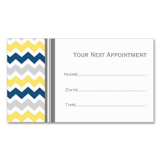 143 best Appointment Cards images on Pinterest