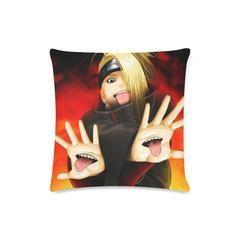 Naruto Shippuden Deidara Akatsuki Member Portrait 3D Wallpaper Pillow