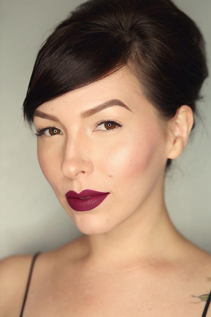 MAC Retro Matte Liquid Lipcolour Lip Swatches - Keiko Lynn