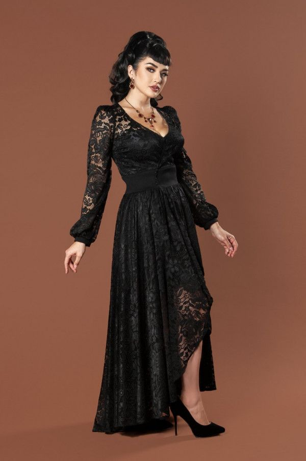 e50c3e0391d Bisou Lace Robe Wrap Dress by Elvira for Couture for Every Body ...