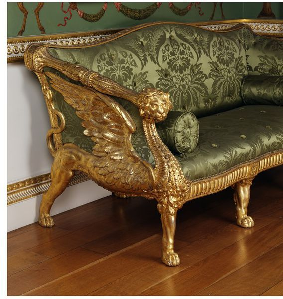 Settee place of origin london made date 1759 1765 made for Mobili antichi 1800