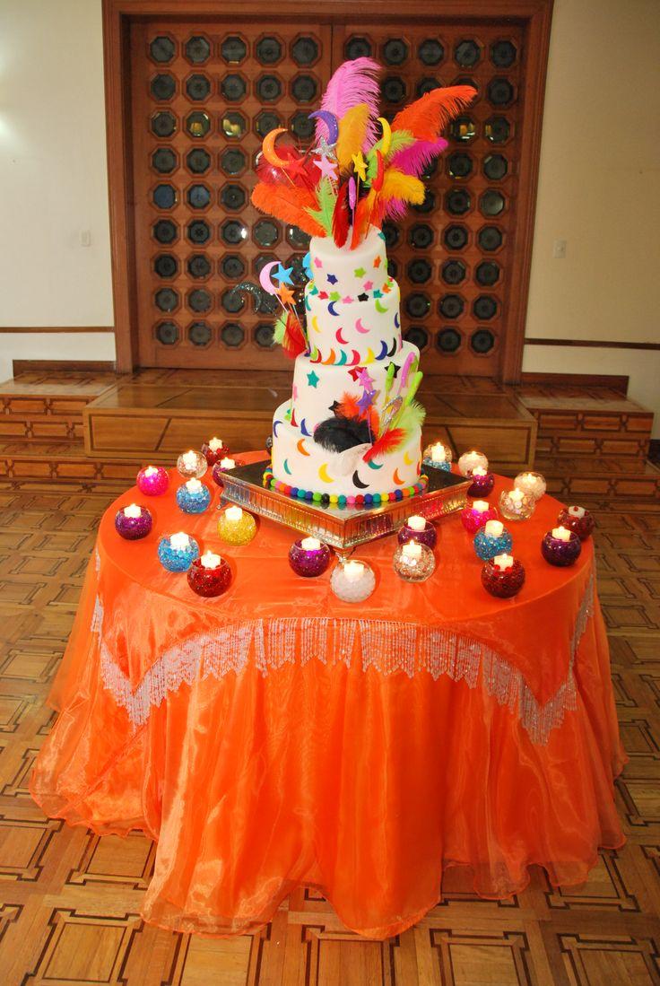 torta de matrimonio gitano