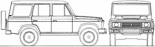 ARO 244 blueprint