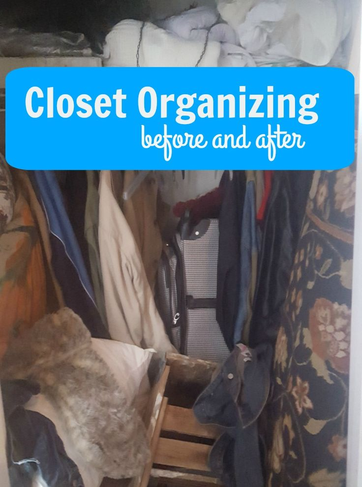 Have you been putting off organizing your closet this year? So have we! Get through the project quickly with this helpful guide!