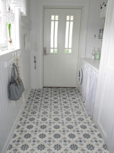 Handmade tiles in late 1800s style, from historiske.no